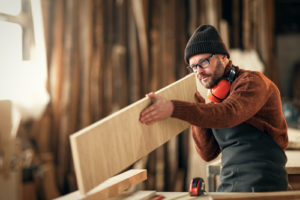 Illustrazione delle applicazioni MCA Colibri: lavorazione del legno