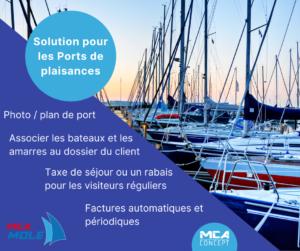 Image MCA Mole gestion de port