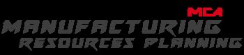 Logo für das Modul MRP (Manufacturing Resources Planning) der Software MCA Concept